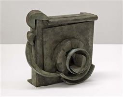 "small bronze ""doxy"" by sir anthony caro"