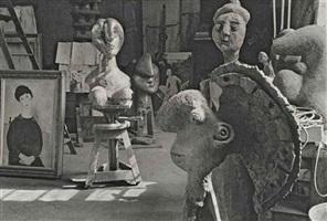 atelier de pablo picasso, rue des grands-augustins, paris, 1944 by henri cartier-bresson
