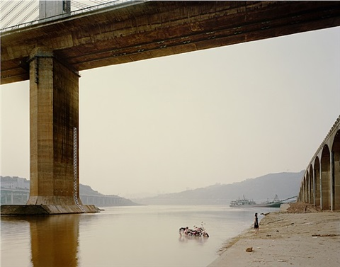 chongqing vii (washing bike) by nadav kander