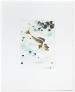li jin no fish in a clear pond by li jin