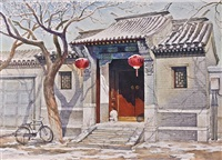 spring snow by zhang weizhi