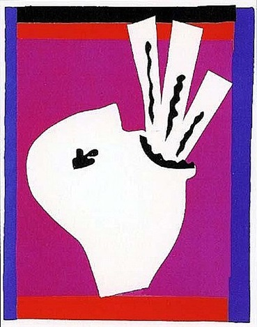pochoir by henri matisse