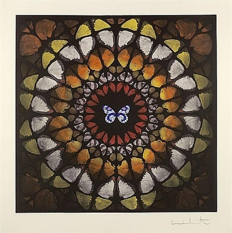 chancel by damien hirst