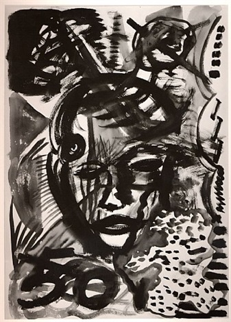 portrait 12 by a.r. penck