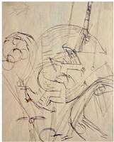 zeichnung für ein bewegliches bild by otto dix