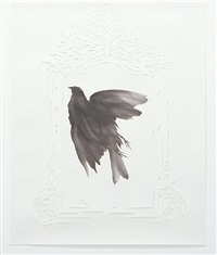 black bird/white mirror by james drake