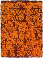 fucked-up and far from home by mel bochner