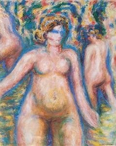 trois nus by andré masson