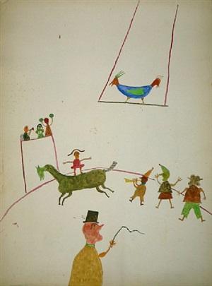 circus by ilija basicevic bosilj