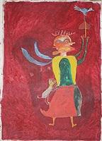 fairy ravijojla and bird by ilija basicevic bosilj