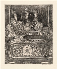 box at the metropolitan by reginald marsh