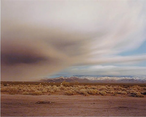 clearing storm near kingman by richard misrach