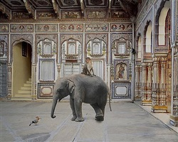 conqueror of the world, podar haveli, nawalgarh by karen knorr