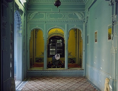 solitude of the soul , udaipur city palace by karen knorr