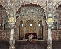 waiting for atman, junargarh fort, bikaner by karen knorr