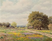 spring flowers by palmer chrisman