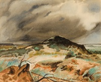 storm over the hillside by charles taylor bowling