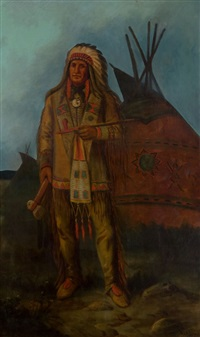 indian chief by astley david middleton cooper
