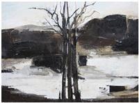winter escarpment by ffiona lewis