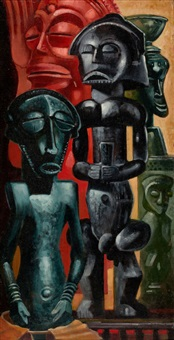african sculpture by olin herman travis
