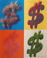 $ (quadrant) by andy warhol