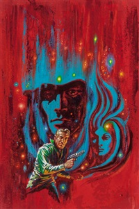 winds of earth, ace double edition paperback cover by kelly freas
