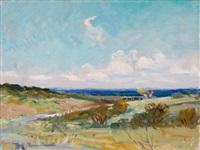 summer landscape by reveau mott bassett