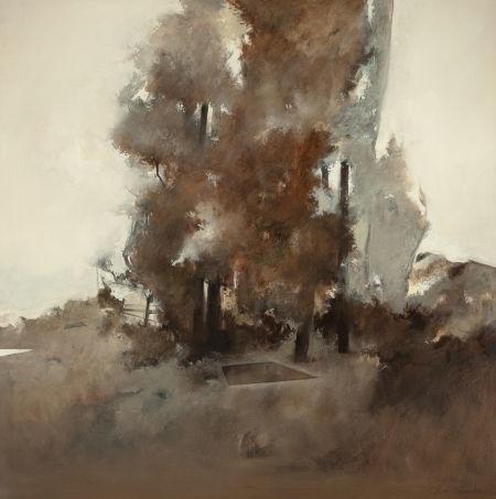 untitled landscape by john alexander
