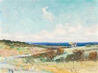 texas landscape by reveau mott bassett
