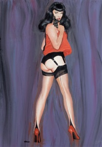 i'm no angel (bettie page) by ron lesser