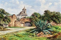 mission san jose, san antonio, texas by jose vives-atsara