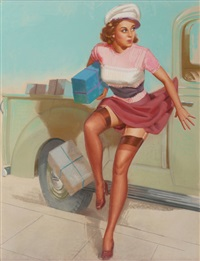 sneaking away with the packages by knute o. munson