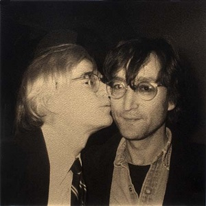 warhol and lennon by christopher makos