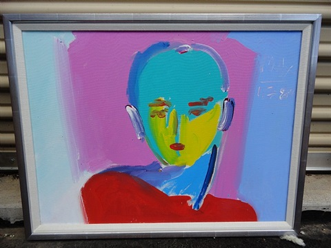 mondrian man by peter max