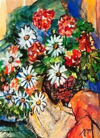 floral still life by josephine mahaffey