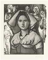 l'italienne (bloch 740) by pablo picasso