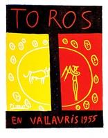 toros en vallauris (bloch 1265) by pablo picasso