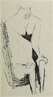 seated figure by kenneth armitage