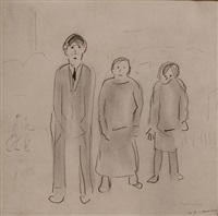a family by laurence stephen lowry