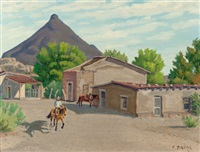 siesta, shafter, texas by fred darge