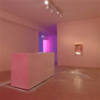 installation view 'instant karma' at laleh june galerie basel by lori hersberger