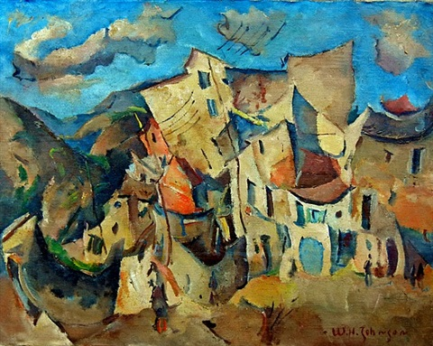 cagnes sur mer a.m. by william henry johnson