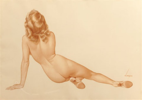 her back view by alberto vargas