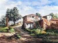 casas de campo, catalonia, spain by jose vives-atsara