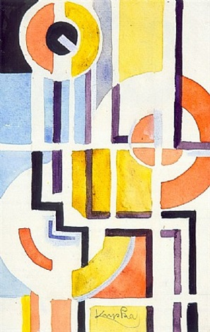 ohne titel / untitled by frantisek kupka