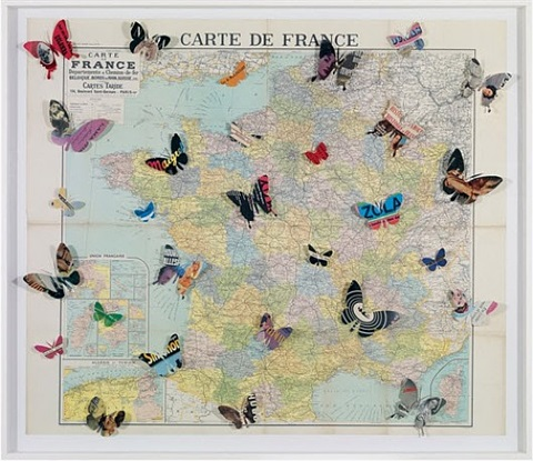 carte de france by peter wüthrich