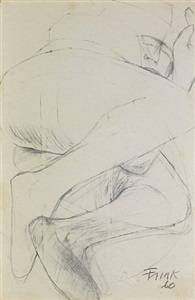 sculptors drawings works on paper by elisabeth frink