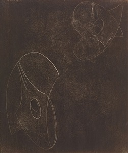 sculptors drawings works on paper by naum gabo