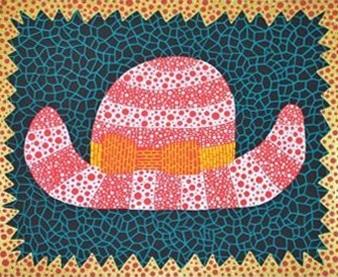 chapeau by yayoi kusama