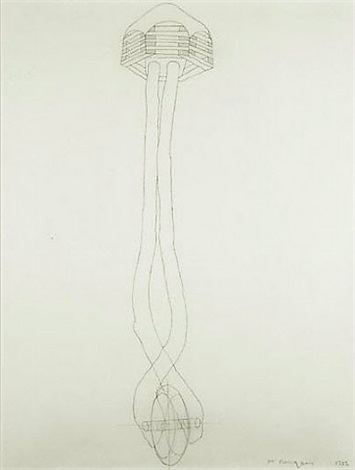 drawing for sanctuary by martin puryear